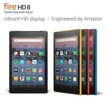 Amazon Fire HD 8 Tablet 16GB 8th Gen 2018