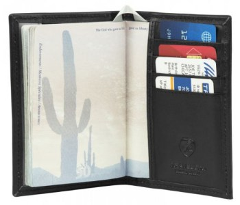 Travelon Safe ID Passport- Black