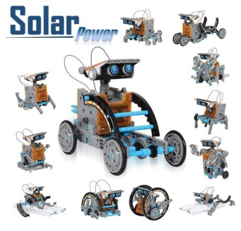 CIRO Solar Robot Creation Kit 12-in-1 Solar R...
