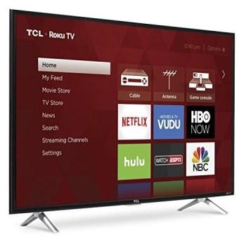 "TCL 43"" 1080p Roku Smart LED TV"