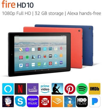Amazon Fire HD 10 Tablet 32GB 7th Gen