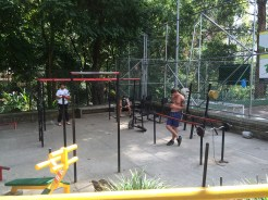 Medellín has free outdoor gyms. Absolutely genius.