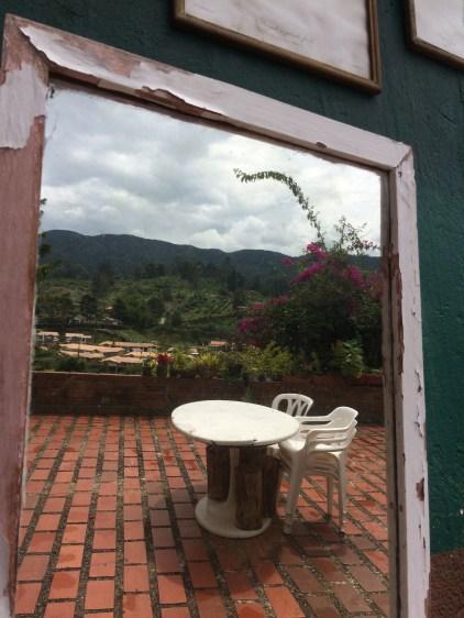 The countryside near the town of La Fe (The Faith)