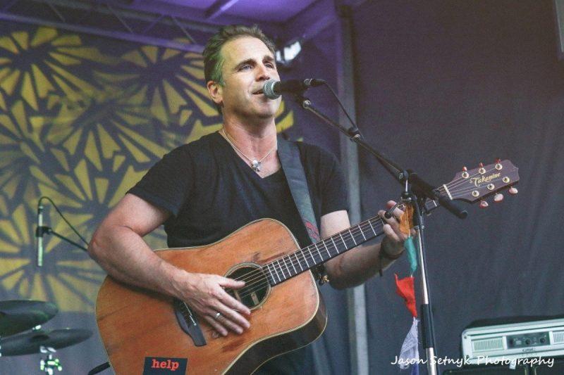 Sean McCann Great Big Sea Cornwall Music Fest