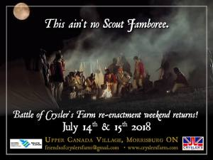 The Friends of Crysler's Farm Battlefield @ Upper Canada Village |  |  |