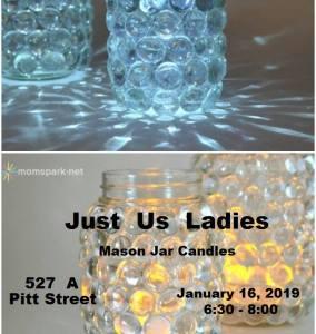 Just Us Ladies - Mason Jar Candles @ White Knucklerz RC