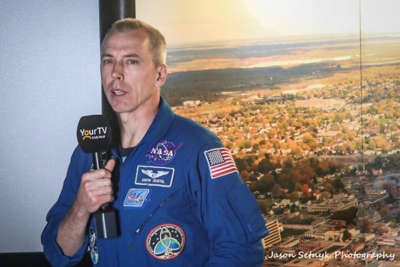 Interview with NASA Astronaut and ISS Commander Dr. Andrew Feustel