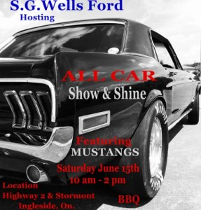 All Car Show & Shine @ Highway 2 & Stormont, Ingleside | United States