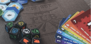 Board games at Jet Set at the NAV Centre with MeepleMobile @ Jet Set Pub   Cornwall   Ontario   Canada