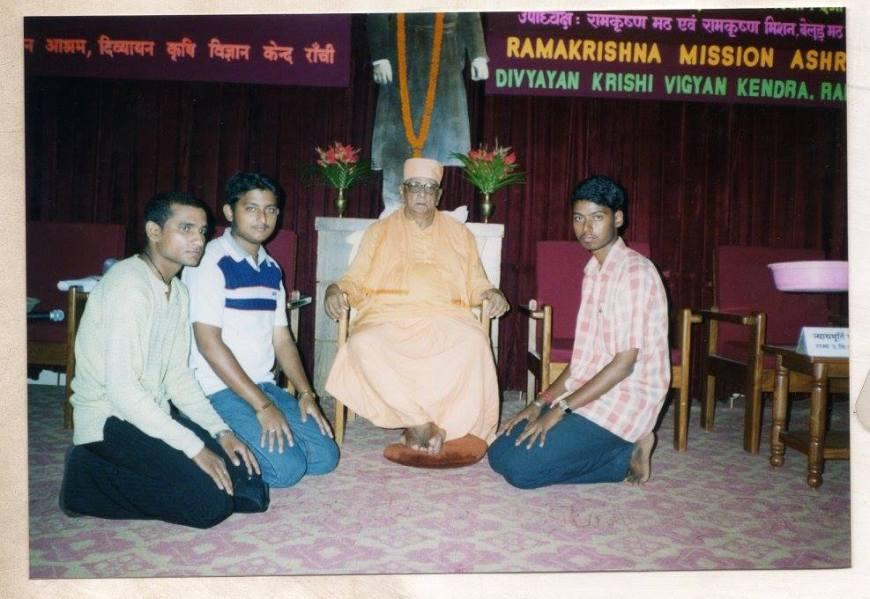 Swami-Atmasthananda-In-Ranchi