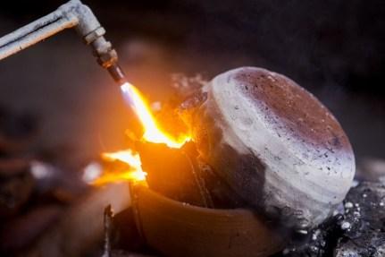 E-Waste Smelting in Java | Source: Greenpeace