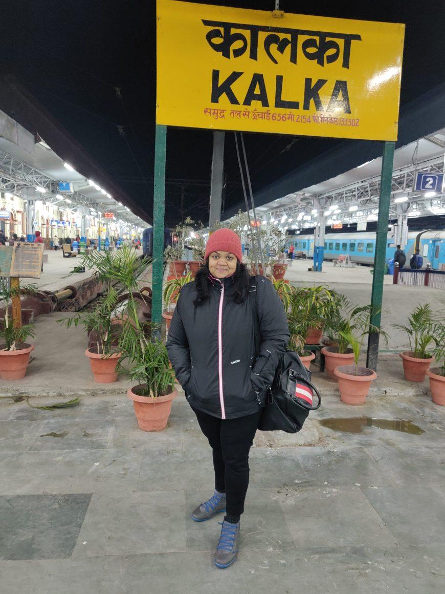 Kalka to Shimla