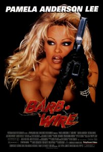 Barb Wire movie poster, these fantastic worlds