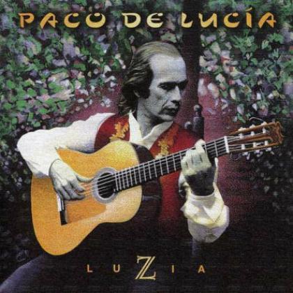 Luzia, Paco de Lucia, album covers, these fantastic worlds