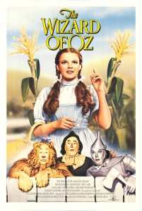 Wizard of Oz, movie poster, these fantastic worlds