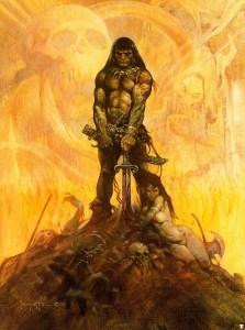 Frazetta, Conan