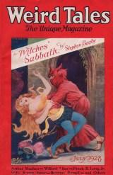 Arthur Machen Weird Tales, July 1928, dark fantasy