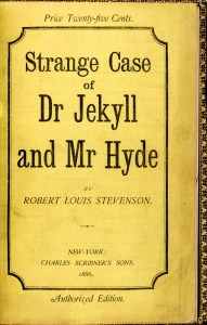 These Fantastic Worlds, Robert Louis Stevenson, Jekyll and Hyde