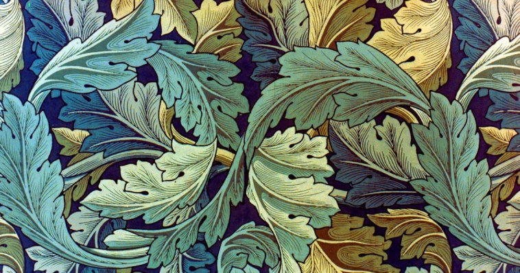 William Morris, Acanthus design