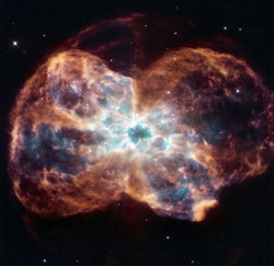 Hubble star death