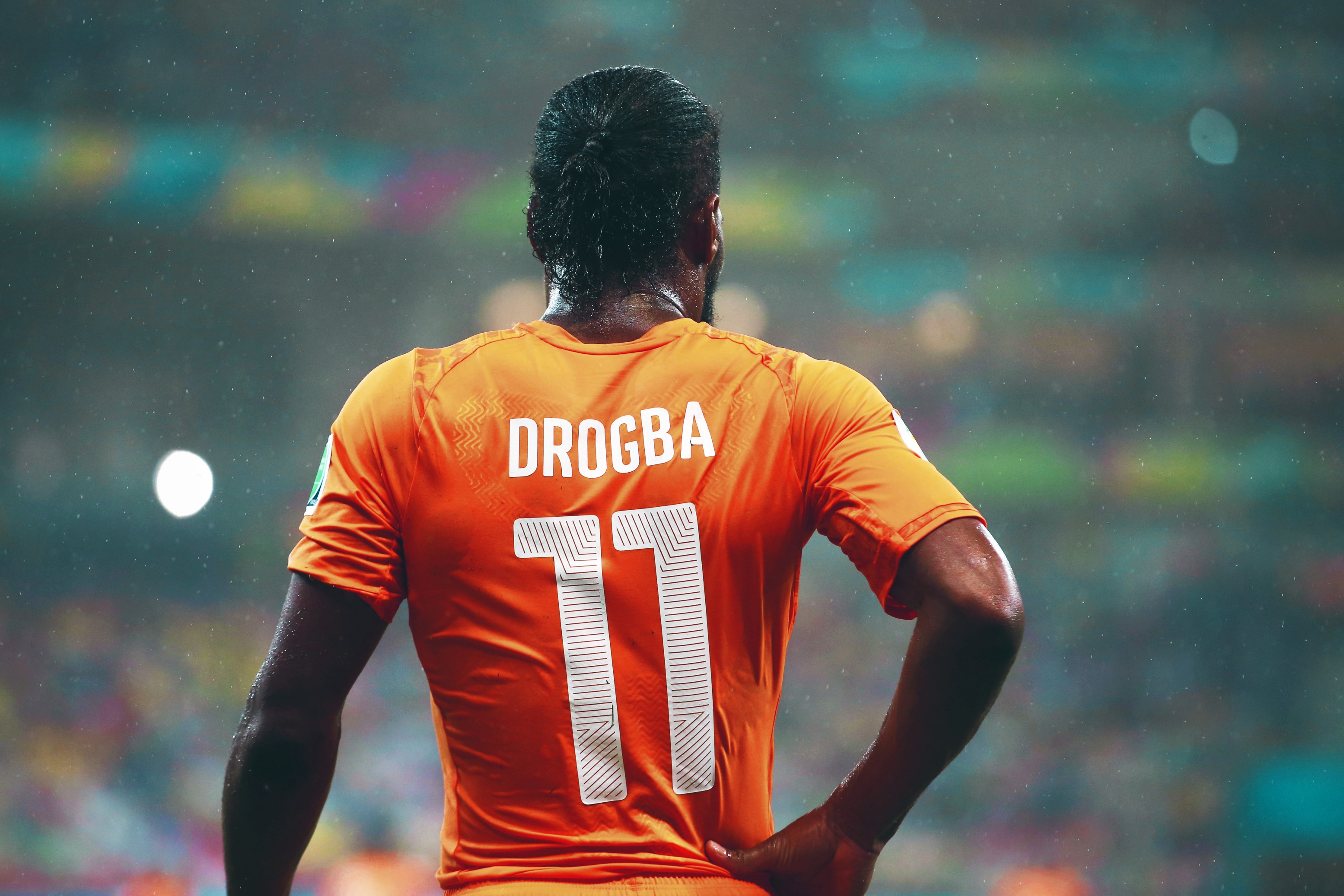 DROGBA DEMANDS PEACEFUL IVORY COAST
