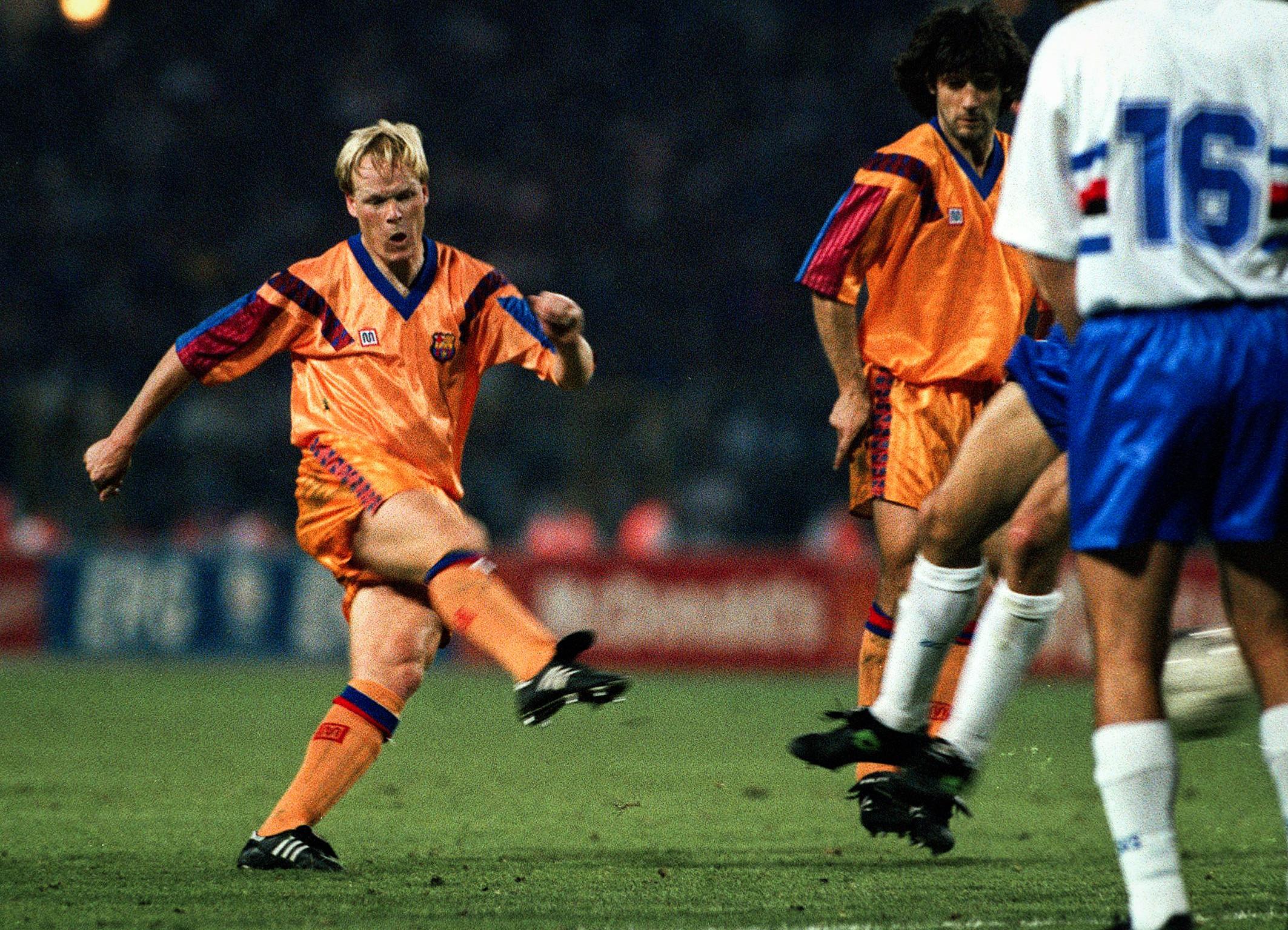 The season that saw Ronald Koeman top the Champions League ...