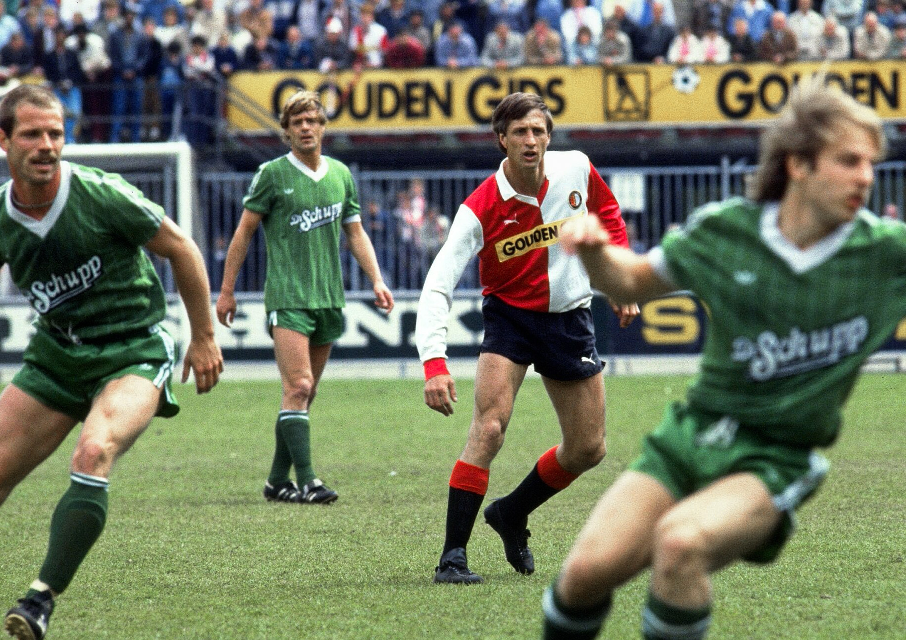 When Ajax Didn T Want Johan Cruyff He Left For Feyenoord And Won The Double