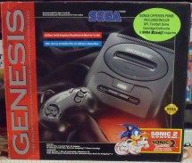 Boxed Model 2 Sega Genesis