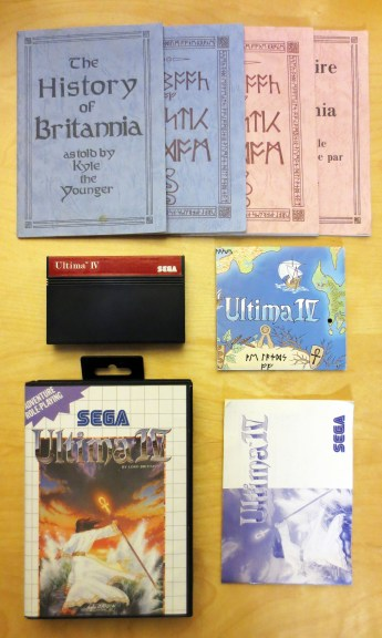 Complete SMS Ultima IV, English and French