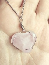 Rose Quartz - Opens the heart to give and receive love