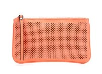 New Look coral cut out clutch £9.99 / Clutch en coral con troquelado de New Look 11,99€