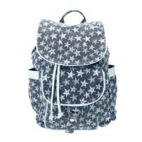 Blue Star Backpack (£25.00) / Mochila Azul con Estampado de Estrellas (29,99 €) - Claire's