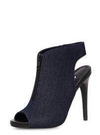 Denim Peep-Toe Shoe Boots (£15.00) / Zapatos abotinados Peep-toe (20,00 €) - Dorothy Perkins