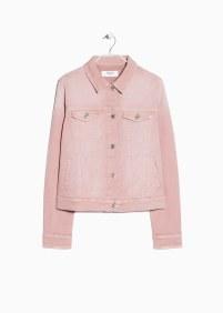Pink Denim Jacket (£29.99) / Chaqueta Vaquera Rosa (29,99€) - MANGO