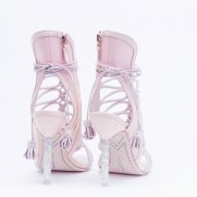 Sophia Webster Bridal Lacey Heaveny Pink Sandal