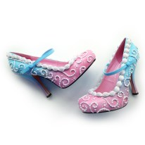 Shoe Bakery Cotton Candy Mary Jane Pumps