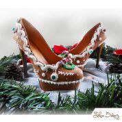 Shoe Bakery Gingerbread High Heels