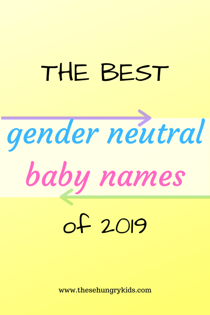 Gender neutral baby names are becoming the trend, and there are so many to choose from! Check out my list of both traditional and unique unisex names – a complete baby name list! #babynames #girlnames #boynames #unisexnames #genderneutralbabynames