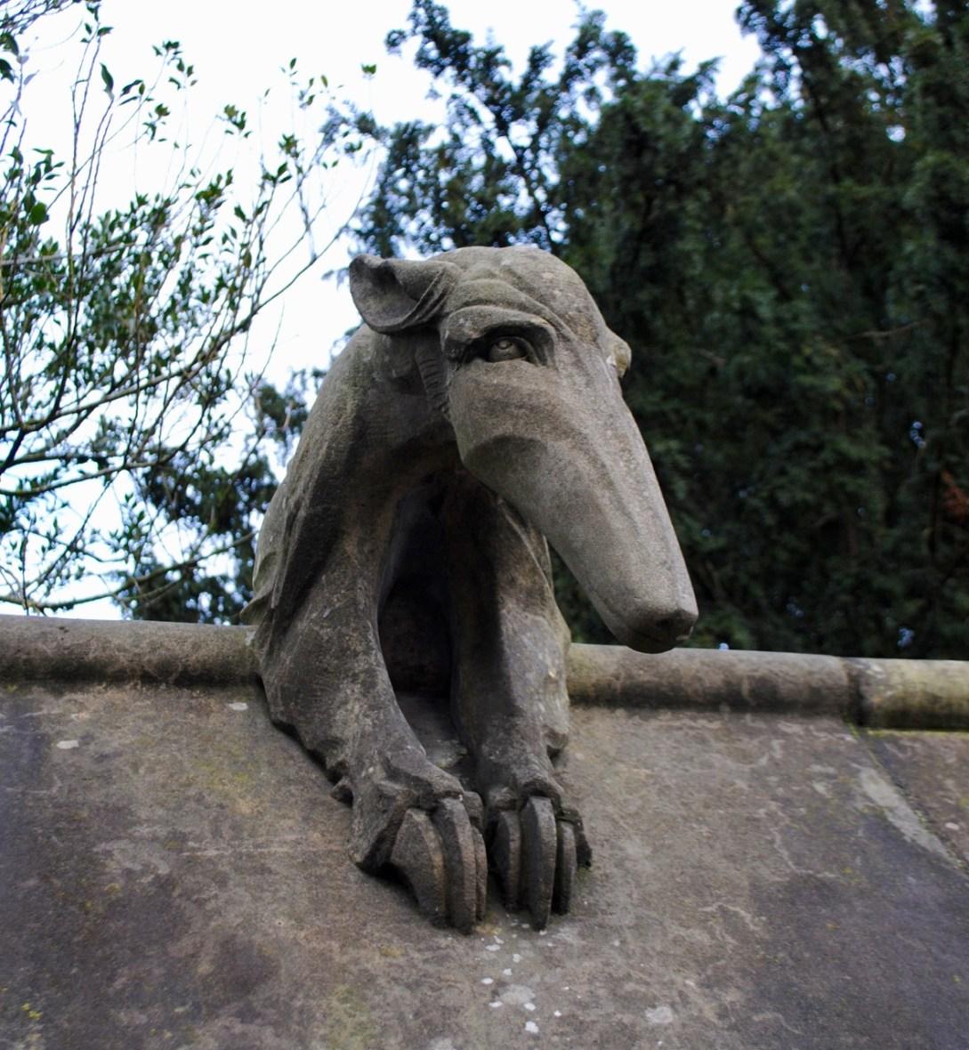 Cardiff animal wall anteater