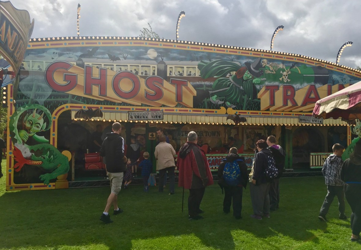 Ghost Train Carters Steam Fair