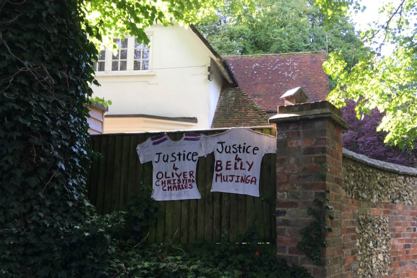 New church banners