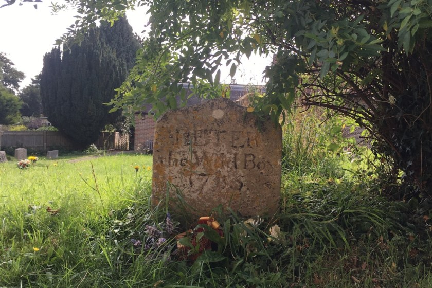 Peter the Wild Boy grave