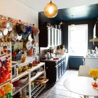 お宅拝見:セルビーのサイトから、ニューヨークのアート系の仕事をする女子部屋。