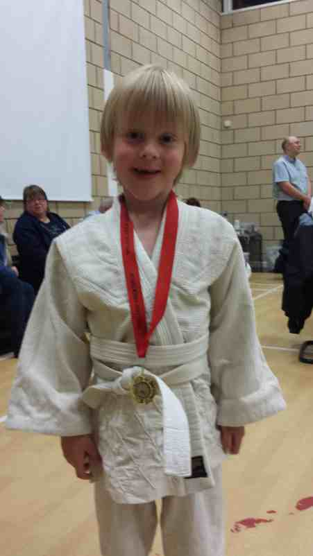 My Son at Judo