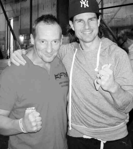 Andy Norman and Tom Cruise
