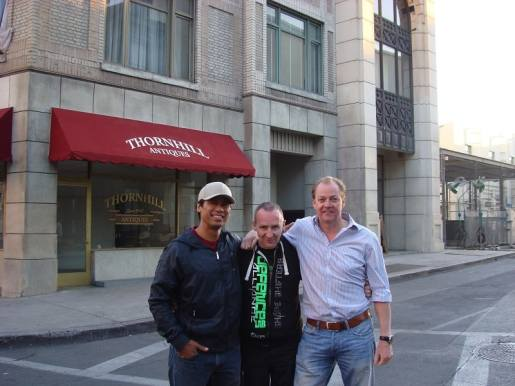 Rob Alonzo - Andy - and Paul Jennings - Paramount studios and the Jack Reacher press day