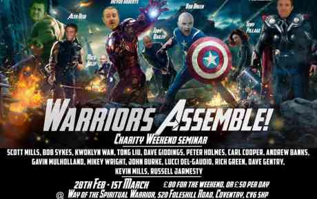 Warriors Assemble to Support Anthony Pillage