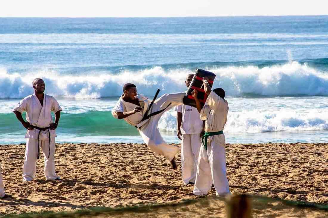 karate para la autodefensa