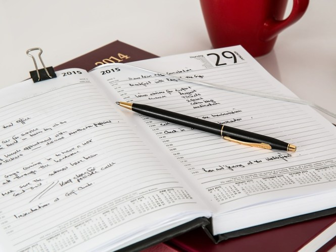 Use journals. Record your thoughts.