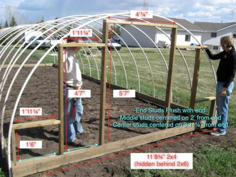 25 DIY Greenhouse Plans You Can Build On A Budget     The Self     hoop style green house